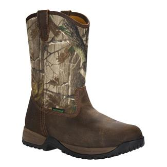 "Georgia 11"" Riverdale Wellington WP Distressed Brown / Realtree AP"