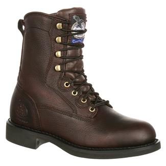 "Georgia 8"" Carbo-Tec Lacer Oiled Brown"