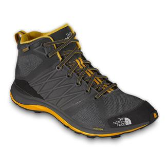 The North Face Litewave Guide Mid HyVent Zinc Grey / TNF Yellow