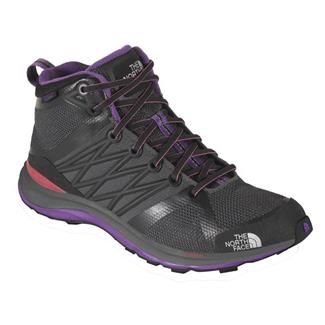 The North Face Litewave Guide Mid HyVent Dark Shadow Grey / Pixie Purple