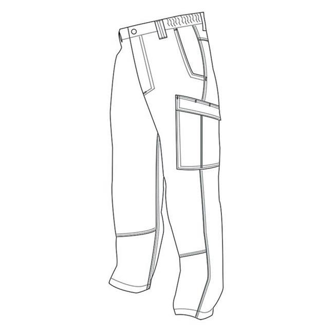 24-7 Series Simply Tactical Cargo Pants Black