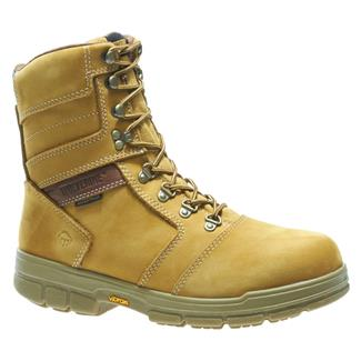 "Wolverine 8"" Barkley WP 400G Gold Nubuck"