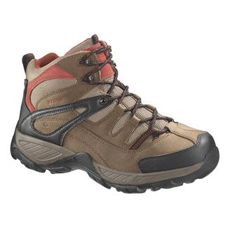 Wolverine Bennett Hiker Mid ST WP Dark Brown / Red