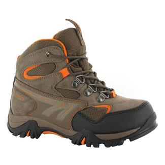 Kids' Hi-Tec Nepal WP JR Brown / Taupe / Clementine