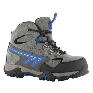 Kids' Hi-Tec Nepal WP JR Charcoal / Blue / Black