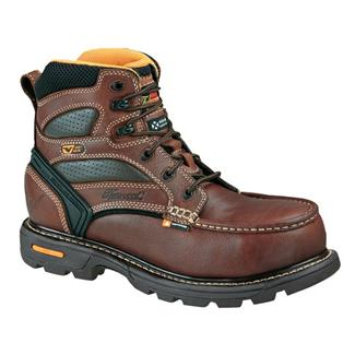 "Thorogood 6"" Gen Flex Moc Toe WP CT Brown"