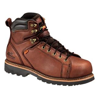 "Thorogood 6"" I-Met Lace-To-Toe ST Brown"