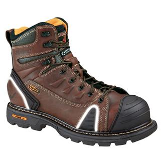 "Thorogood 6"" Gen Flex Lace-To-Toe CT Brown"