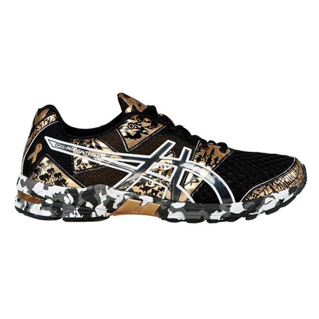 ASICS GEL-Noosa Tri 8 - Cancer Awareness Edition Black / Gold Metallic / White
