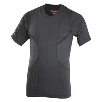 24-7 Series Short Sleeve Concealed Holster Shirt Black
