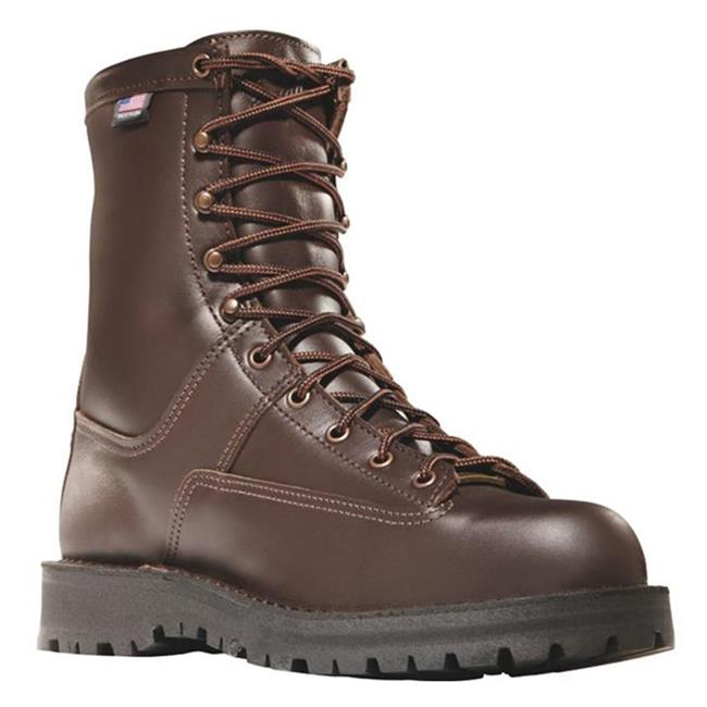 "Danner 8"" Hood Winter Light 200G Brown"