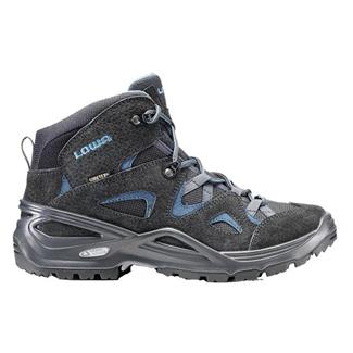 Lowa Bora GTX QC Anthracite / Blue