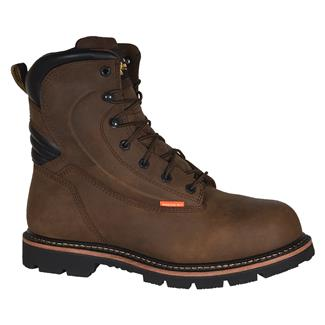 """Golden Retriever 8"""" Rig Boot WP CT Brown"""
