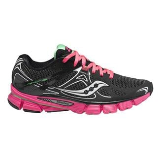 Saucony Mirage 4 Black / Vizipink / Green