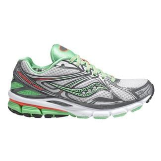 Saucony Hurricane 16 Gray / Green / Pink