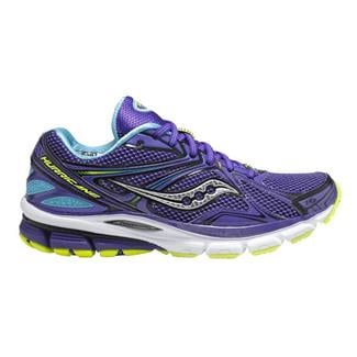 Saucony Hurricane 16 Purple / Blue / Citron