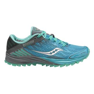Saucony Peregrine 4 Blue / Teal / Gray