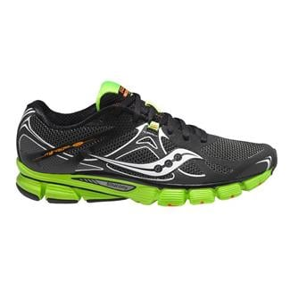 Saucony Mirage 4 Black / Green / Orange