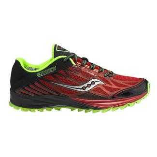 Saucony Peregrine 4 Red / Black / Green