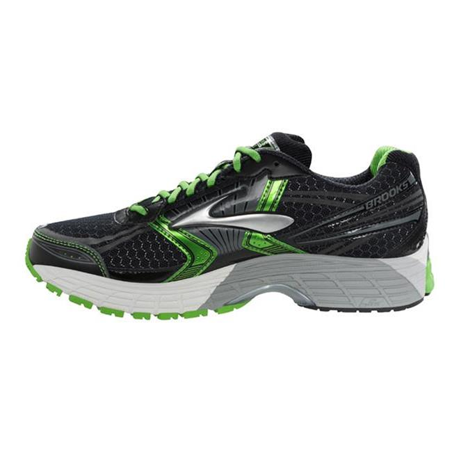 Brooks Adrenaline GTS 14 Black / Speed Green / Silver