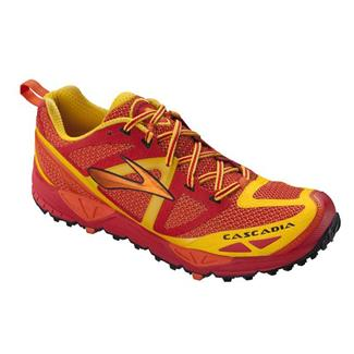 Brooks Cascadia 9 High Risk Red / Orangeade / Lemon Chrome