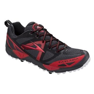 Brooks Cascadia 9 Anthracite / High Risk Red / Black