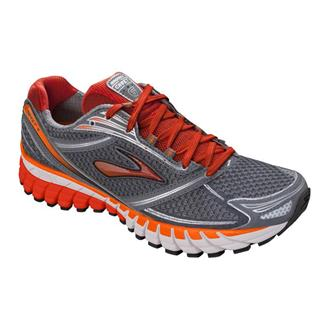Brooks Ghost 6 Pavement / Silver / Orange.com