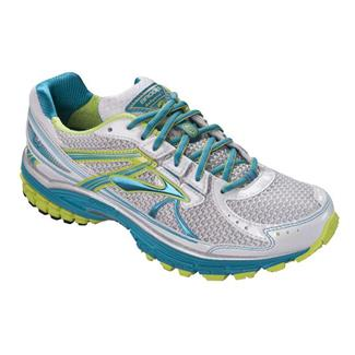Brooks Defyance 7 Caribbean / White / Green Glow