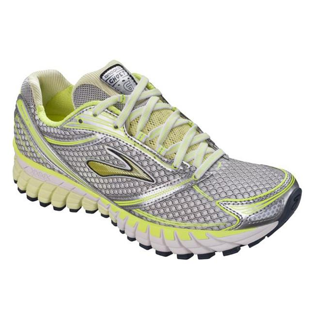 Brooks Ghost 6 Sunny Lime / Silver / Green Glow