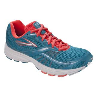 Brooks Launch Caribbean / Silver / Fiery Coral