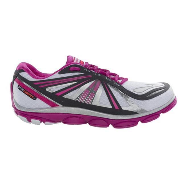 Brooks PureCadence 3 White / Fuchsia / Anthracite