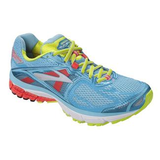 Brooks Ravenna 5 Bluefish / Fiery Coral / Green Glow