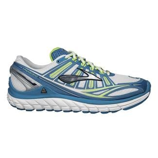 Brooks Transcend White / Silver / Capri Breeze