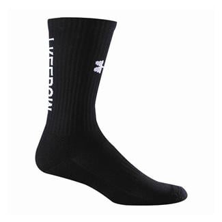 Under Armour Freedom Crew Socks - 2 Pair Black