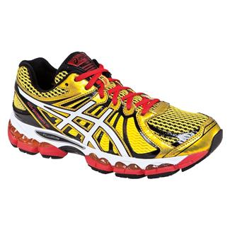 ASICS GEL-Nimbus 15 Yellow / Pearl White / Red