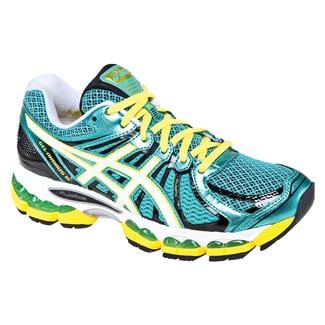 ASICS GEL-Nimbus 15 Green / Pearl White / Yellow