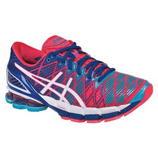 ASICS GEL-Kinsei 5 Hot Punch / White / Royal