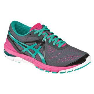 ASICS GEL-Excel33 3 Charcoal / Emerald / Hot Pink