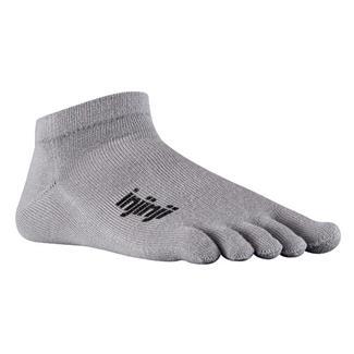 Injinji SPORT Original Weight Micro Socks Gray