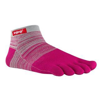 Injinji SPORT Original Weight Micro Socks Gray / Magenta