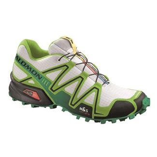 Salomon Speedcross 3 White / Granny Green / Clover Green