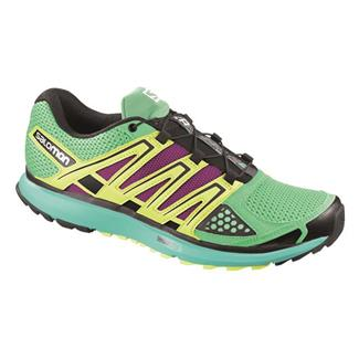 Salomon X-Scream Wasabi / Moorea Blue / Fluo Yellow