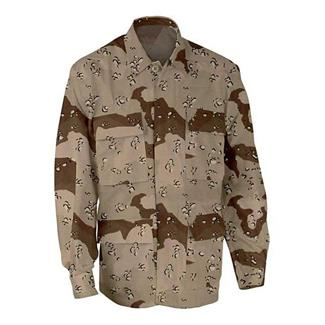 Genuine Gear Poly / Cotton Ripstop BDU Coats 6 Color Desert