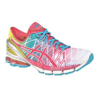 ASICS GEL-Kinsei 5 White / Teaberry / Yellow