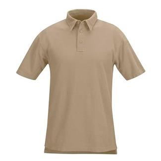 Propper Classic Short Sleeve Polos Silver Tan