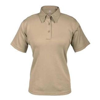 Propper Short Sleeve ICE Performance Polos Silver Tan