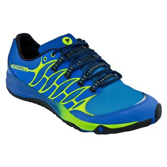 Merrell AllOut Fuse Blue / Lime