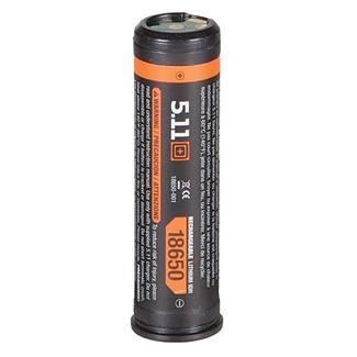 5.11 LiIon 18650 Rechargeable Battery Pack Black