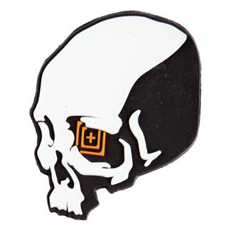 5.11 Skull Shot Patch Black