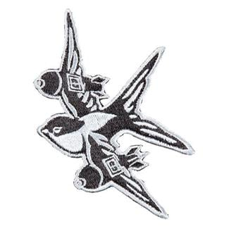 5.11 Swallow Bomber Patch Black